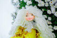 White and Gold fairy :)  In my #etsydoll: Valentines day gift for kids fantasy doll elf doll poseable doll naive art http://etsy.me/2D8yQjA #kidstoy #handmadedoll #artdoll #ooakdoll #fairies #dollstagram #valentinesdaygift