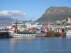 Fishing boats, Kalk Bay, Cape Town.