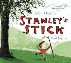 """Read """"Stanley's Stick"""" by John Hegley available from Rakuten Kobo. Stanley's Stick is a teaming-up of hefty talents - the glorious poet John Hegley and the award-winning illustrator Neal . John Hegley, The Power Of Reading, Nature Story, Cool Writing, Better Writing, Thing 1, Children's Literature, New Artists, Book Lists"""
