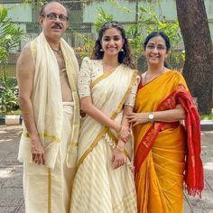 Indian Actresses, Actors & Actresses, Best Heroine, Kerala Saree, Half Saree, Saree Look, Natural Curls, Tamil Actress, Mother And Father