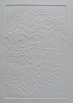Helen Muir - Blind emboss printmaking