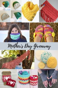 A Mother's Day Pattern Giveaway to make any crochet addict happy. Claim your free PDF from this Mother's Day Pattern Giveaway with 20 free crochet patterns. All Free Crochet, Love Crochet, Easy Crochet, Crochet Hats, Pdf Patterns, Free Pattern, Crochet Patterns, Crochet Slipper Pattern, Crochet Slippers