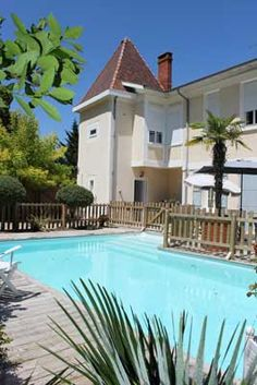 Piscine des Chambres d'hôtes à vendre à Podensac en Gironde