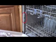 Dishwasher repair - Leaking from bottom of door - troubleshooting Whirlpool - YouTube AdamDIY explains how & when to replace the door gasket