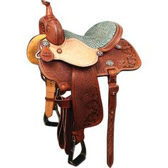 Reinsman Molly Powell Freedom Fit Barrel Racing Saddle