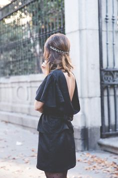 Look at my Back! | Collage Vintage