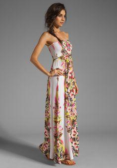 Lily aldridge for velvet multi colored dress