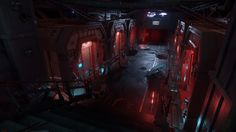 Star Citizen: Grimhex - Level art and lighting by Romain Grolleau