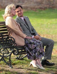 "Joanna Lumley & Leonardo DiCaprio, ""The Wolf Of Wall Street"""