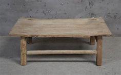 Timber Tea Table