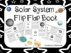 Solar System Flip Flap Books