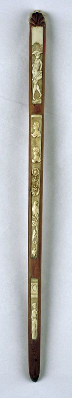This information may change as the result of ongoing research.  Object Name  Busk  Date  18th century