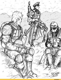My first warhammer art by Gray-Skull on DeviantArt Warhammer 40k Memes, Warhammer Art, Warhammer 40000, Warhammer Imperial Guard, 40k Imperial Guard, Imperial Army, Character Concept, Character Art, Character Design