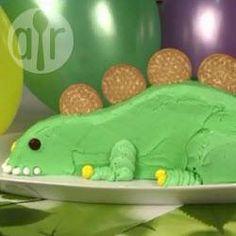 Rezeptbild: Dinosaurier Kindergeburtstagskuchen