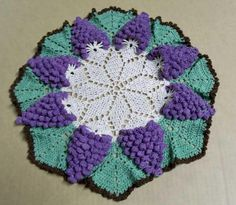 Wild Grape Doily