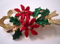Vintage Gerry's Christmas brooch pin by vintageboxofdelights, $10.00