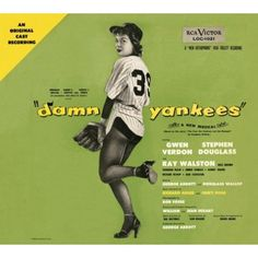 Damn Yankees - original Broadway cast recording (1955).