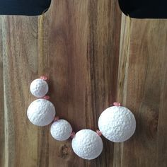Pearl Iridescent Bubbles Necklace by SanityHalo, $55.00 CAD