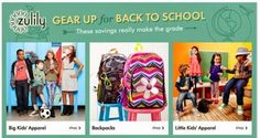 Zulily: Back-to-School Sale