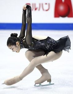 Yuna Kim, olimpic gold medalist on figure ice skating form South Korea, Better known as Skating Queen.