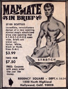 vintage everyday: What Are These Guys Thinking? Here Are The 24 Most Ridiculous Vintage Men's Underwear Ads We Could Find