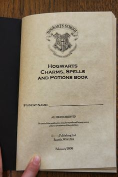 The Hogwarts Charms, Spells and Potions Book