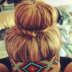 cute color style and headband