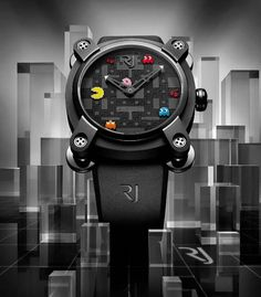 Following the success of the Space Invaders watch , Swiss watch brand Romain Jerome will soon release this high-end limited edition timepiece featuring the iconic Pac-Man video game characters all over the dial. The case of this watch is inherited from the RJ Moon Invader collection, featuring a Swiss automatic Concepto movement. Priced at $17,900, there will be four versions of this geek timepiece, each limited to 20 pieces, and will be exclusively launched at the Colette store in Paris on…