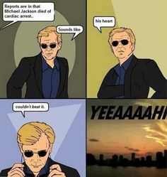 Except for not, because I hate CSI Miami!!