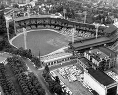 1960 WS: Pittsburgh v. New York. Forbes Field. Baseball Cathedrals, From on High - Slide Show - NYTimes.com