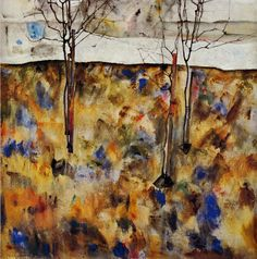 "acapareda: "" Egon Schiele- Winter Trees (1912) """