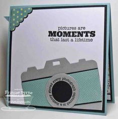 Camera die-namics - Homemade Cards, Rubber Stamp Art, & Paper Crafts - Splitcoaststampers.com