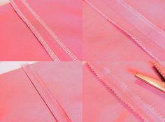 Les différentes finitions des coutures