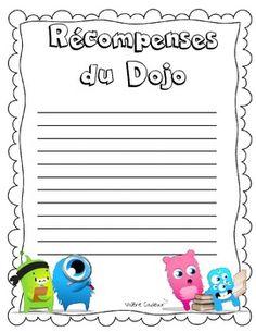 DOJO GESTION DE CLASSE (FRENCH BEHAVIOR) - TeachersPayTeachers.com