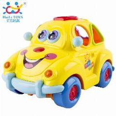 [ 31% OFF ] Baby Car Toy With Flashing Front And Back Lights And Music,bump And Go Learn Fruit Shape Sorter, Electric Cars For Baby Children