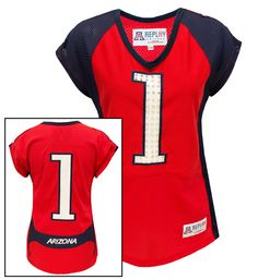 As Arizona Football makes history, give a piece of Arizona Athletics history this holiday season. REPLAY is made in the U.S.A. from authentic, team issued UA Football Jerseys. #12daysofUA #beardown
