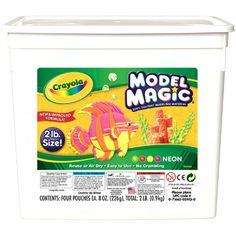 Crayola 2lb Model Magic - Neon