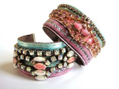 This Etsy shop has the most amazing cuffs!