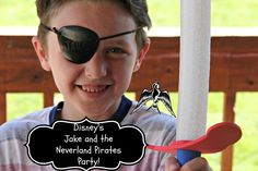 Disney Junior Jake and the Neverland Pirates Party  #JuniorCelebrates #collectivebias #shop  http://asweetpotatopie.com/2014/09/24/disney-junior-jake-neverland-pirates-party/