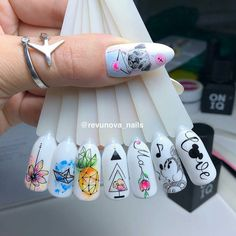 How do you like it? Rate it from 1 to 10 Do not forget to like —————————— # manicure # nail . Best Acrylic Nails, Acrylic Nail Designs, Nail Art Designs, Gem Nails, Love Nails, Stylish Nails, Trendy Nails, Korea Nail Art, Art Deco Nails