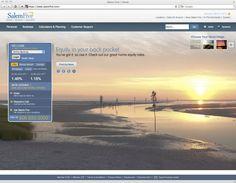 Beautiful, simple banking website designs