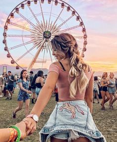 Coachella girls, boho jewelry modern hippie style