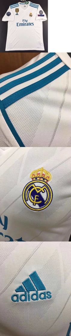 Men 123490: Real Madrid Fc Ronaldo Bale Marcelo Champions League Soccer Jersey S M L Xl -> BUY IT NOW ONLY: $44.99 on eBay!