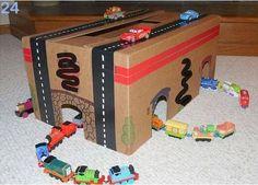 20 Simple Cardboard Box Activities for Kids