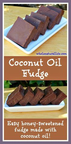 This easy coconut oil fudge is honey-sweetened and suitable for the GAPS and Paleo diets. It's a great way to get more healthy coconut oil into your diet!