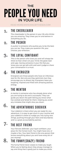 The people you need in your life. How to life your best life and reach your goals. Self improvement inspirational tips self development and goal setting. Ideas and tips on affirmations goal tracking habit breaking life changing actions you can take in Affirmations, Vie Motivation, Sales Motivation, Monday Motivation, Motivation Inspiration, Daily Inspiration, New Energy, Funny Relationship, Strong Relationship