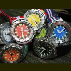 Seiko Monster And Night Monster Dive Watches Style