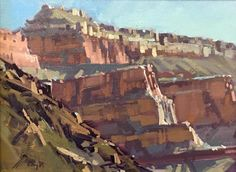 "Doug Braithewaite ""Grand Canyon Study 1"" 7"" x 9"" Oil"