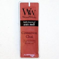 Cinnamon Chai WoodWick Scented Wax Melts ** Continue to the product at the image link.