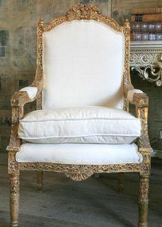 Louis XVI Vintage Chair @LaylaGrayce